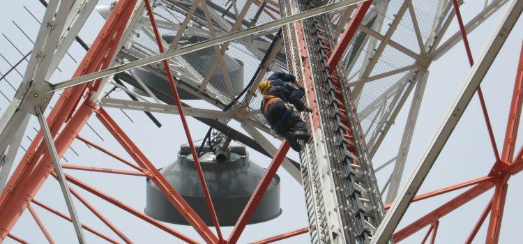 Antennentragwerksinspektion
